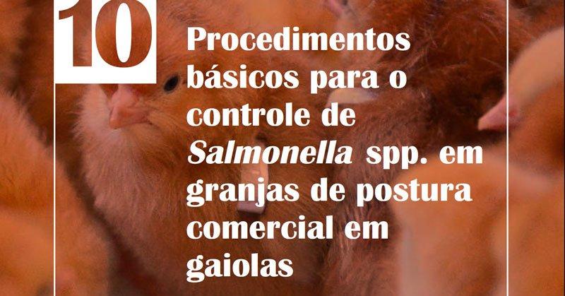 Manual EMBRAPA – Procedimentos básicos para o controle de Salmonella spp. Em granjas de postura comercial em gaiolas