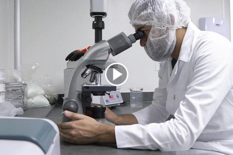 Vídeo - Laboratório de P&D - Biocamp