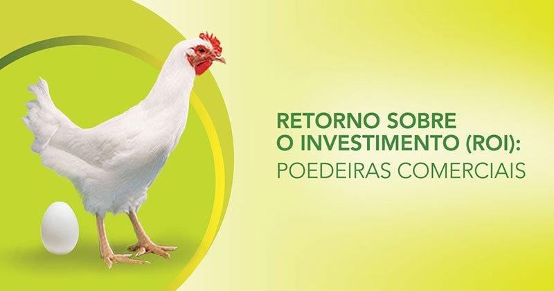 Retorno sobre o investimento: Poedeiras Comerciais