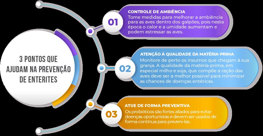 3 pontos para prevenção das doenças entéricas