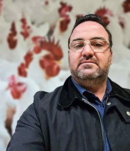 André Pessamilio, veterinario y director de producción del Grupo Alvorada.